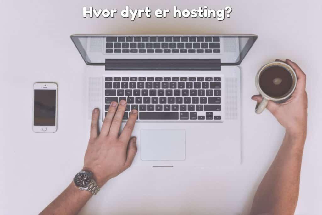 Hvor dyrt er hosting?